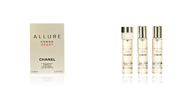 Chanel ALLURE HOMME SPORT recambio 3x20 60 ml