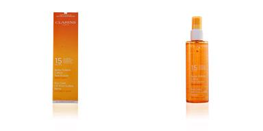 Clarins SUN spray solaire oil-free SPF15 sport 150 ml