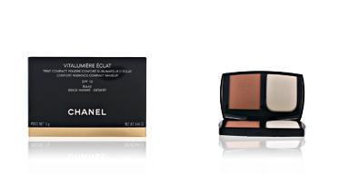 Chanel VITALUMIERE ECLAT compact #BA40-beige ambré-désert 13 gr