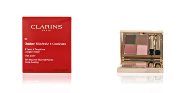 Clarins OMBRES MINERALES 4 couleurs #03-rosewood 5.8 gr