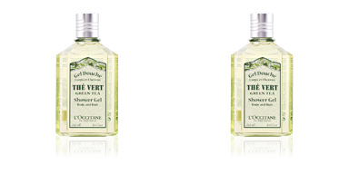 L´occitane THE VERT gel douche corps & cheveux 250 ml