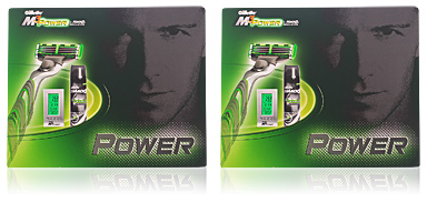 Gillette M3 POWER LOTE 2 pz