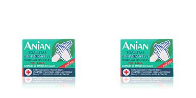 Anian ANIAN HIDRO-ALCOHÓLICO toallitas higienizantes 10 uds