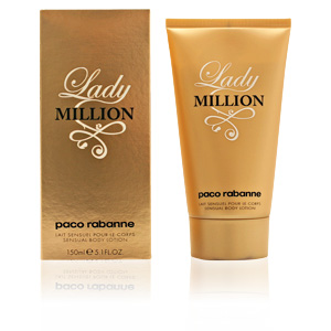 LADY MILLION loción hidratante corporal 150 ml