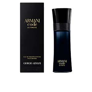 ARMANI CODE ULTIMATE edt intense vaporizador 75 ml