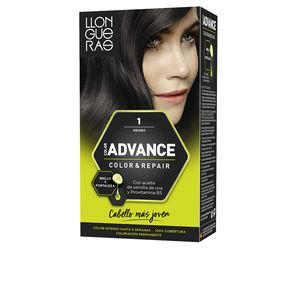 LLONGUERAS COLOR ADVANCE hair colour #1-natural black