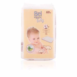 NATURE maxi discos bebé algodón 100% orgánico 60 pz