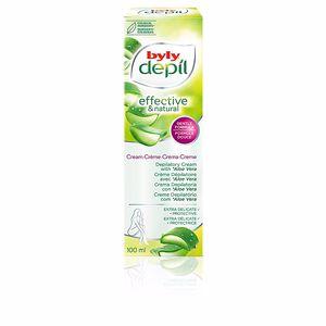 BYLY DEPIL crema depilatoria extra-delicada aloe vera 100 ml