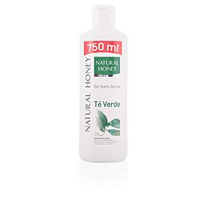TÉ verde gel de ducha 750 ml