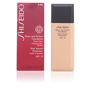 SHEER & PERFECT foundation SPF15 #B100-very deep beige 30 ml