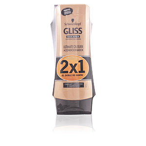 GLISS OIL ELIXIR CONDITIONER LOTE 2 pz