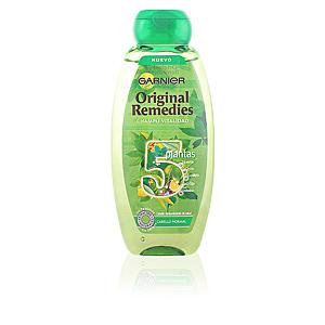 ORIGINAL REMEDIES champú 5 plantas 400 ml
