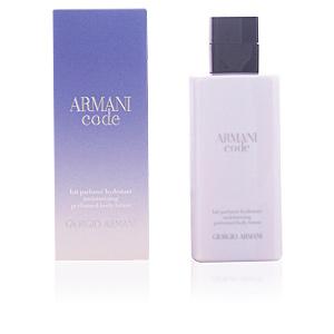 ARMANI CODE FEMME perfumed loción hidratante corporal 200 ml